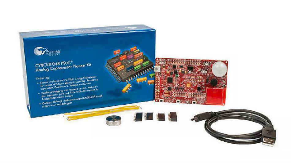 Das PSoC Pioneer Kit CY8CKIT-048