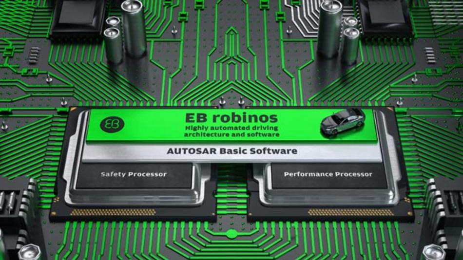 Die Entwicklung von Funktionen für das hochautomatisierte Fahren erfordert die Integration vieler Hard- und Software-Komponenten. EB Robinos fasst viele Elemente des Entwicklungsprozesses in einer offenen Plattform zusammen.