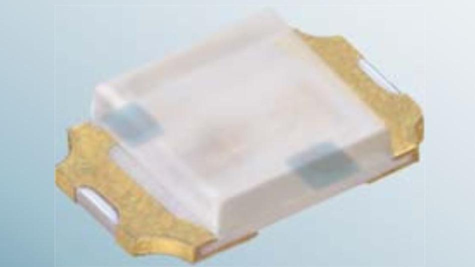 Die LED-Produktfamilie Picoled von Rohm: Sie decken den Wellenlängenbereich zwischen 470 und 630 nm ab, werden mit 20 mA und, je nach Typ, mit 2 bis 3 V betrieben. Die erzielte Lichtstärke beträgt zwischen 10 (grün) und 85 (rot) Millicandela.