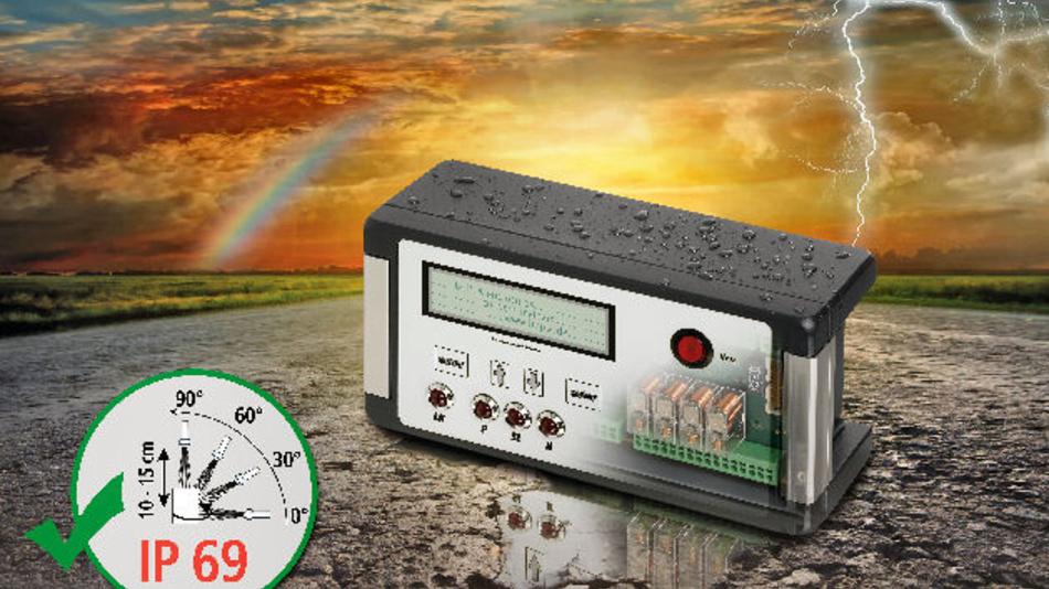 Aluminiumgehäuse der Serie Bocube Alu schützen empfindliche Elektronik u.a. vor Hochdruckstrahlwasser