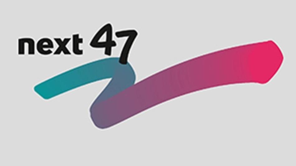 So sieht das Logo von next47 aus.