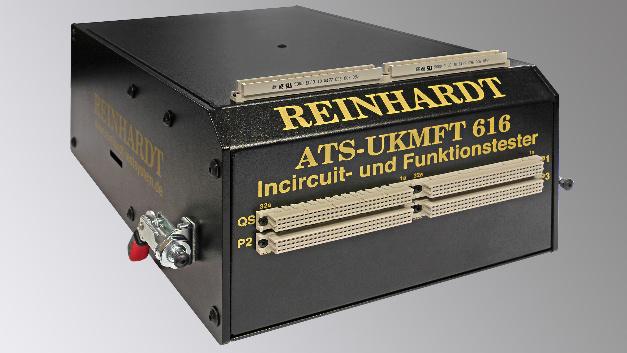 Ein Incircuit- und Funktionstester der Reinhardt System- und Messelectronic GmbH.