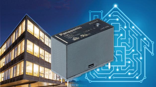 Das DW-HL ist Panasonics Low-profile-Version des bistabilen 16-A-Relais DW-H.  Durch die auf 15,8 mm verringerte Bauhöhe eignet sich das Relais besonders für die Gebäudeautomation.  Das DW-HL schaltet zuverlässig 25.000 mal Einschaltströme von 117 A bei 240 VAC  nach TV-8-Rating und Nennschaltleistungen von bis zu 16 A/277 VAC.