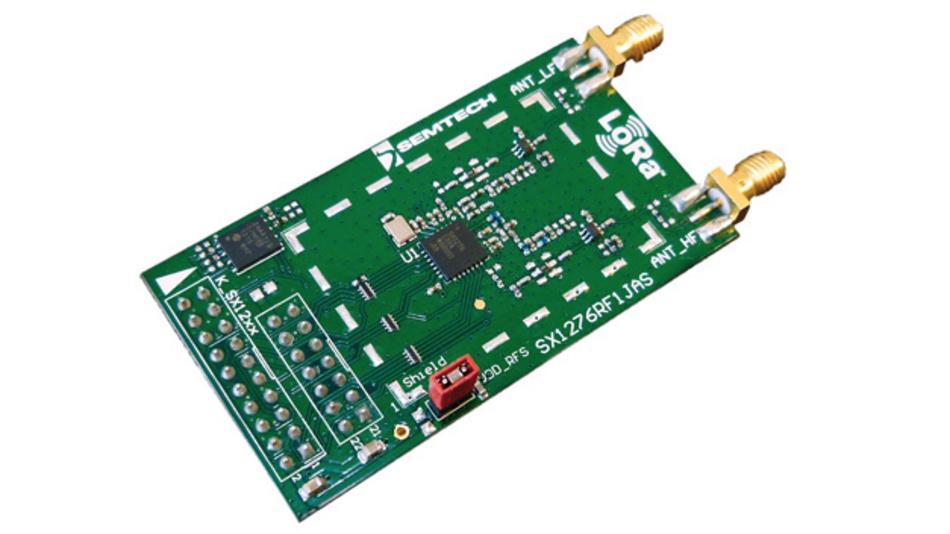 Semtechs LoRaWAN-Entwicklungs-Kits eignen sich für IoT-Anwendungen, die ein Wide Area Network (WAN) benötigen.