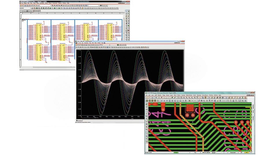 Bild 1. OrCAD ist aktuell als Version 17.2-2016 am Markt verfügbar und wurde in Programmmodulen wie PSpice Designer und PCB Designer gezielt verbessert, um z.B. Mixed-Signal-Simulationen noch effizienter durchführen zu können.