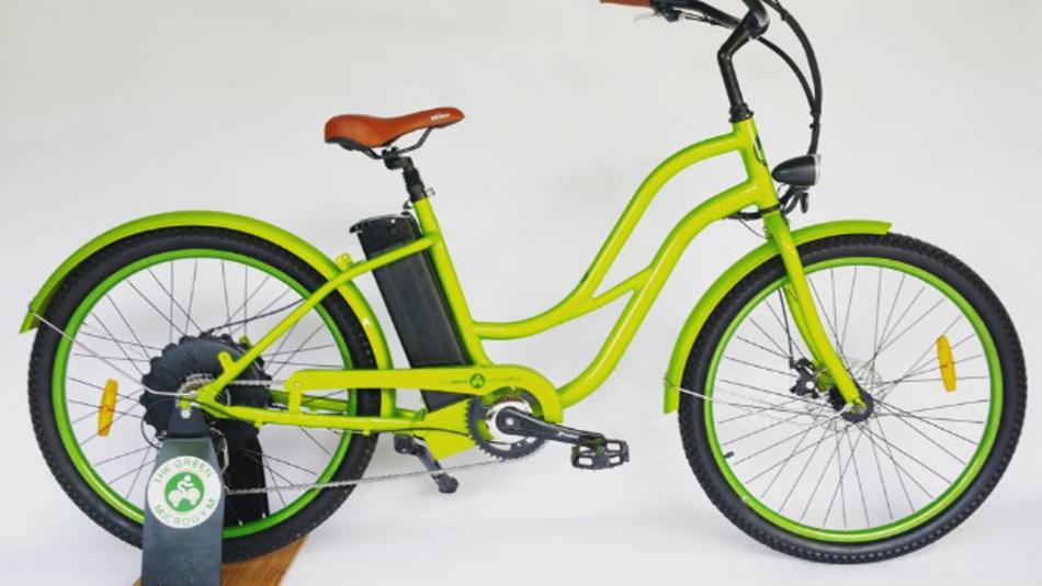 Beim Green Microcycle lässt sich der Elektromotor auch als Generator nutzen.