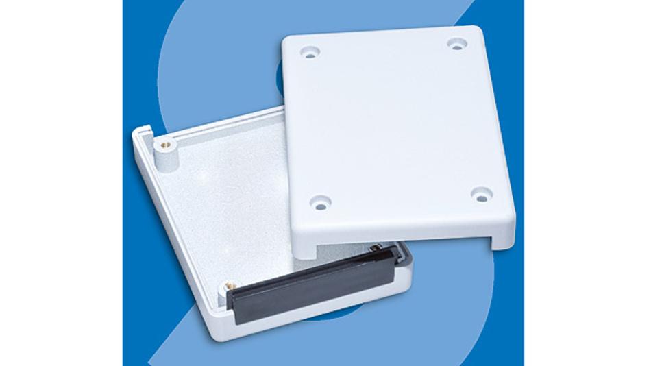 Bild 1. Schukat vertreibt Gehäuse von Streitbürger mit EMV-Beschichtung, die eine Abschirmwirkung von 99,999999 % erreicht.
