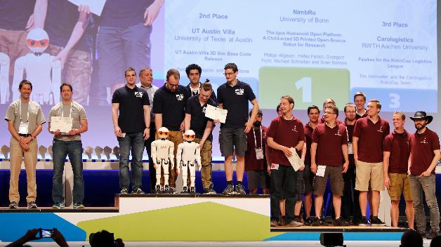 Harting vergab erstmals beim RoboCup 2016 in Leipzig den Open-Source-Preis.