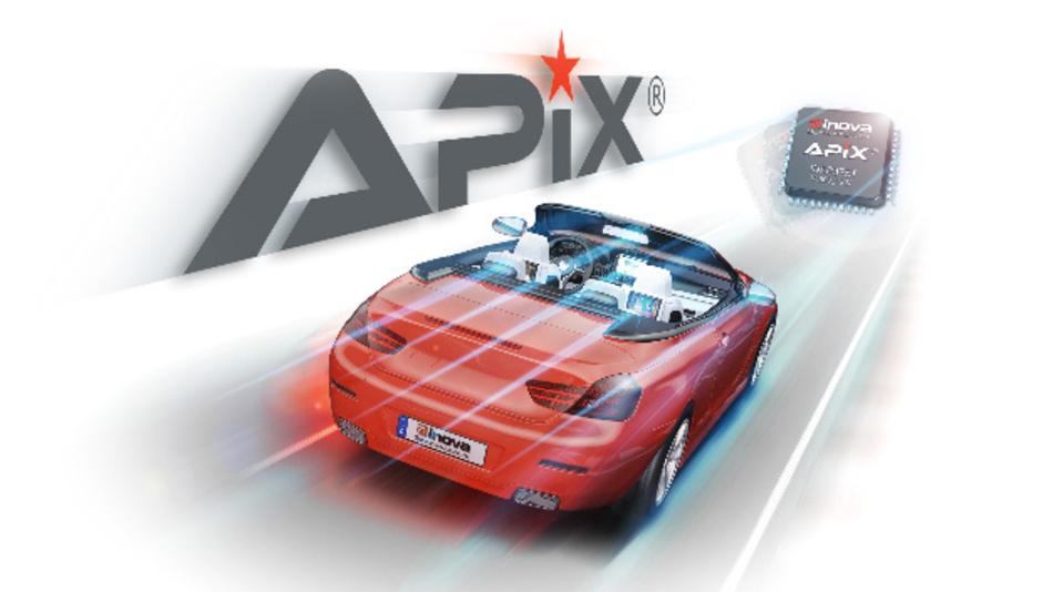 Bei Apix handelt es sich um einen seriellen Mehrkanal-Link, der über ein einziges Kabel Daten mit einer Übertragungsrate im Gbit/s-Bereich zwischen Displays, Kameras und Steuereinheiten transportieren kann.