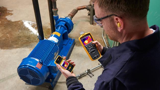 Wärebildkameras sind bei der Fehlersuche an elektrischen Anlagen ein wichtiges Hilfsmittel.