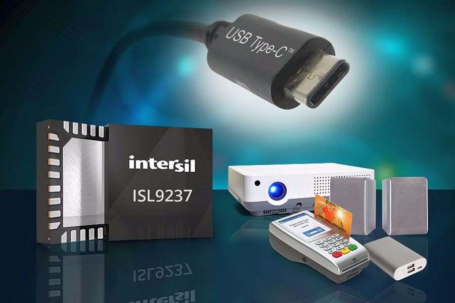 USB-C Batterielade-IC ISL9237