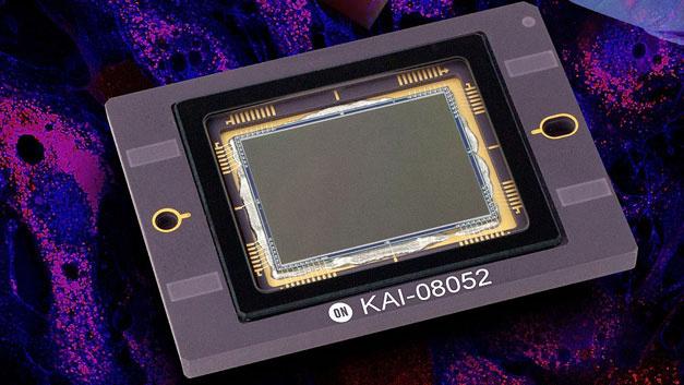Mehr Infrarotlicht messen können, lautet das Motto, das On Semiconductor mit dem KAI-08052 verfolgt.