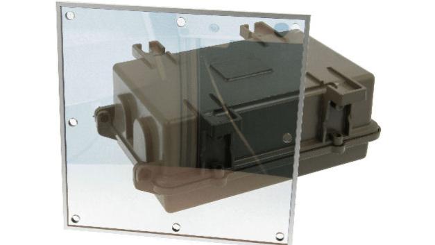 Neue EMV-Fenster und leitfähige Folien