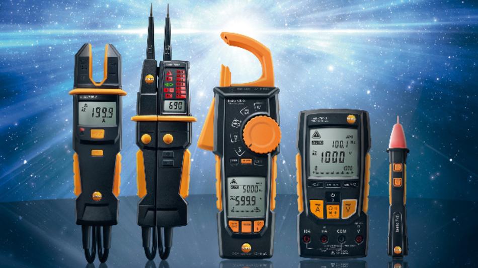 Die Testo-Serien 770, 760, 755, 750 und 745 können für eine Vielzahl von elektrischen Messungen eingesetzt werden.