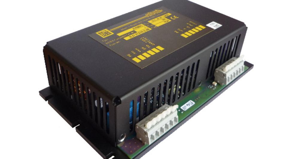 Der DC/DC-Wandler ACR350 von Autronic deckt Nominalspannungen von 24 bis 110 V Gleichspannung inkl. 40-%-Toleranzen gemäß EN 50155 ab.