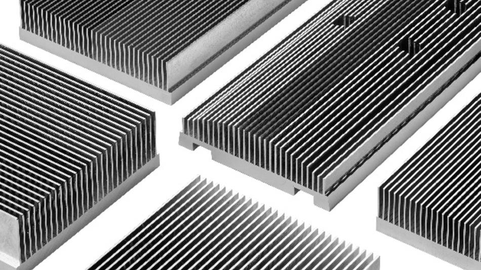 Kühlkörper aus Aluminium