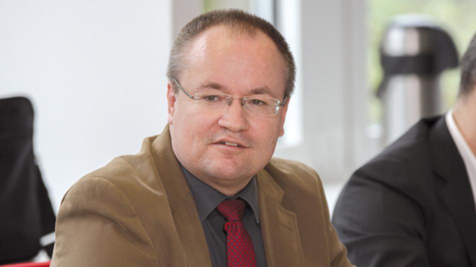 Frank Wolinski, ST Microelectronics »Wenn wir über vernetzte Industrie reden, dann generieren wir alle daraus schon Umsätze. Aber wenn wir Industrie 4.0 nehmen, wie es ursprünglich definiert wurde, dann eher nein.«