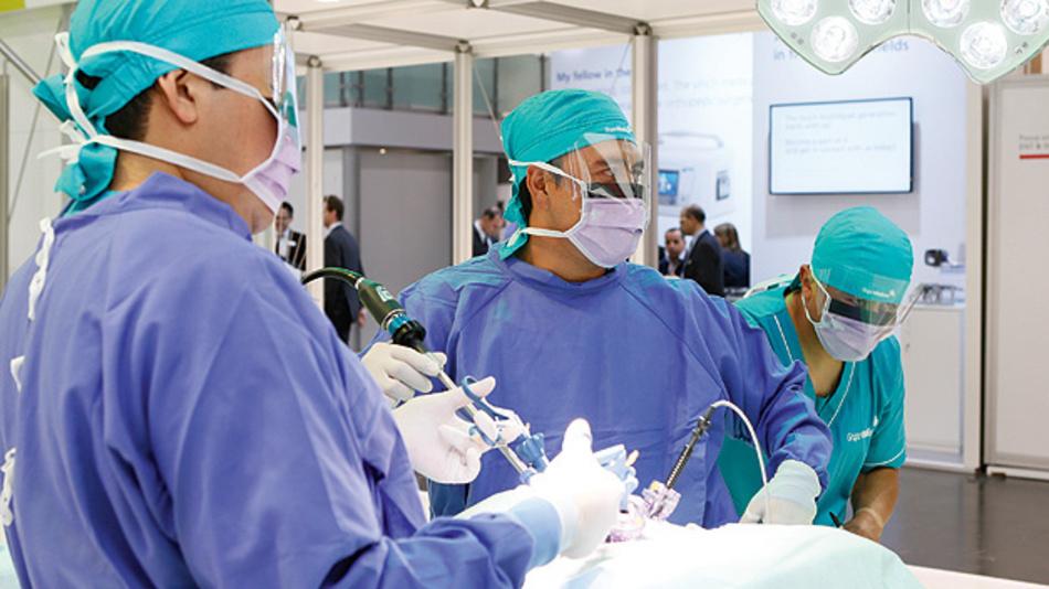Auch bildgebende Verfahren für minimalinvasive Chirurgie stehen im Fokus der Medica und der Compamed.