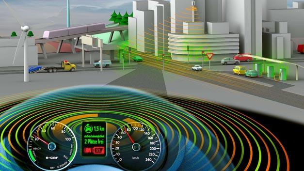 """Das Projekt VEReMO widmete sich interdisziplinärer Forschung zu den parallel stattfindenden Trends Elektromobilität und Fahrzeugvernetzung mit Fokus auf die Themenfelder """"Wertschöpfungsketten"""", """"Automatisierter Verkehr"""" sowie """"Kommunikationstechnologien""""."""