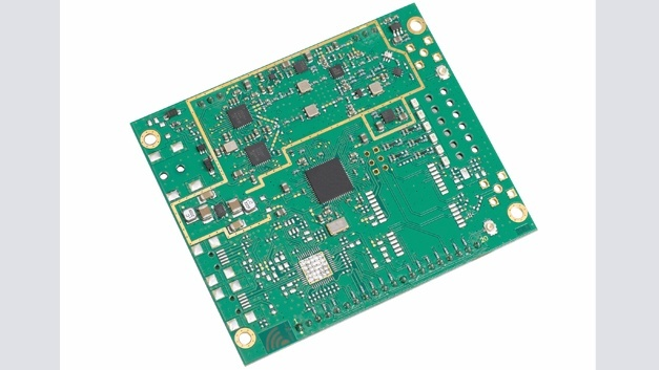 Bild 2: Das Konzentratormodul »iC880A« von IMST unterstützt die bei LoRa möglichen Reichweiten in vollem Umfang.