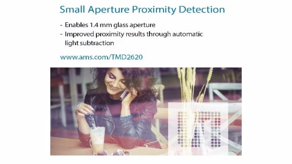 Näherungssensor TMD2620 von ams