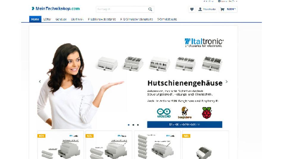 Der neue Internet-Fachhandel MeinTechnikshop.com