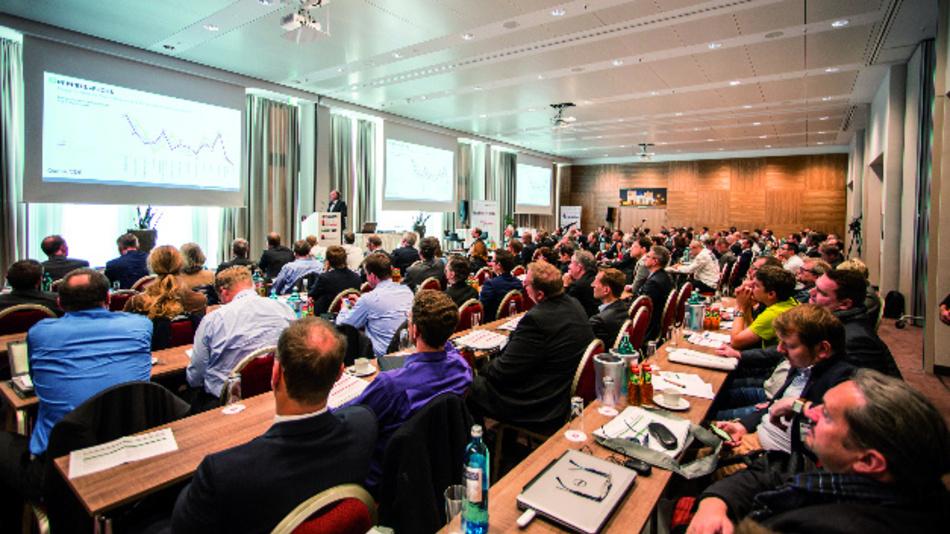 Dr. Gunther Kegel, Geschäftsführer von Pepperl+Fuchs, bei seiner Keynote auf dem 3. Markt&Technik Industrie 4.0 & Industrial Internet Summit im vergangenen Jahr