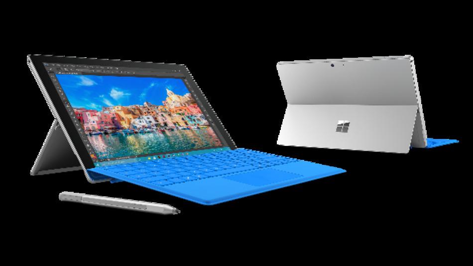 Der Tablet-PC »Surface Pro 4« von Microsoft