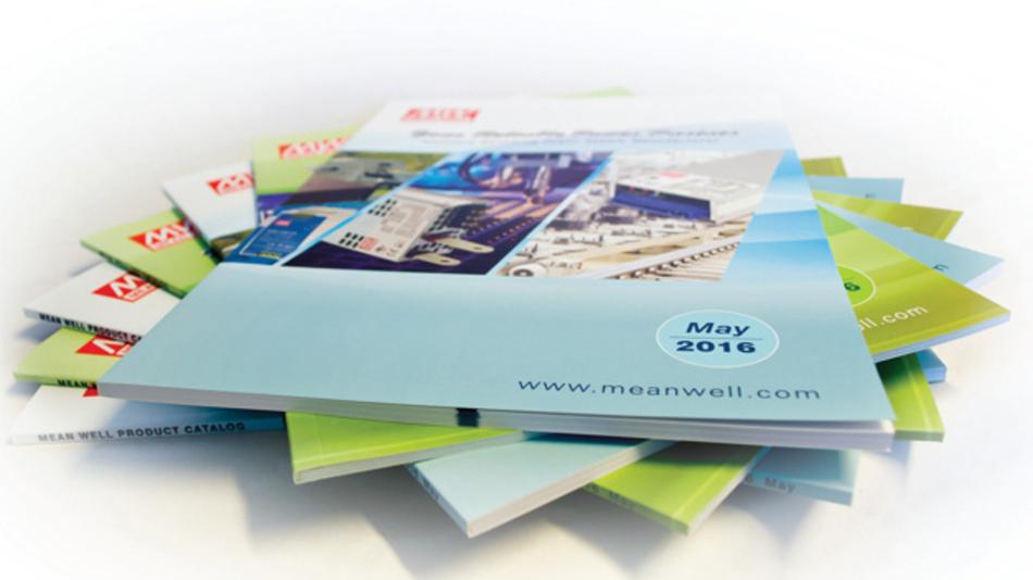 Der neue Katalog von MEAN WELL ist ab sofort bei M+R Multitronik erhältlich.