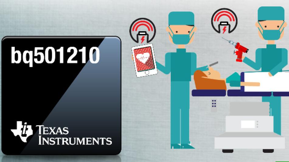 Der Wireless-Power-Sender von Texas Instruments ist nach dem Qi-Standard v1.2 zertifiziert.
