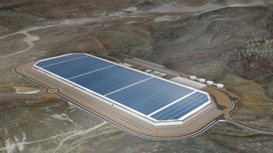 Tesla weihte Ende Juli 2016 den Gigafactory-Bau ein.