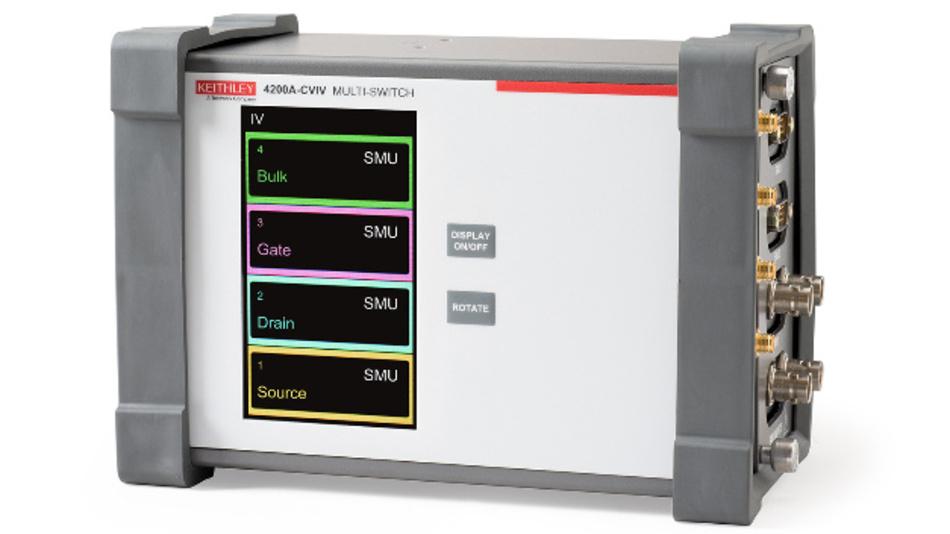 Das Modul 4200A-CVIV ermöglicht die schnelle Umschaltung von I-V-Messungen auf C-V-Messungen