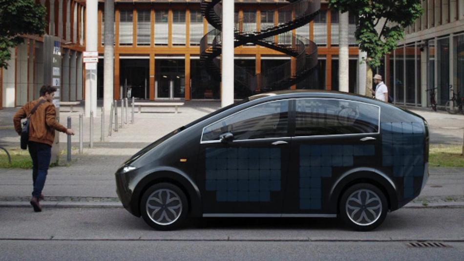 Ungewöhnliches Konzept: Das Elektroauto Sion besitzt Solarzellen zum Selbstaufladen und spezielle Moose als Luftfilter.