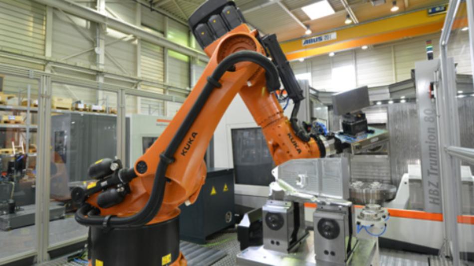 Der VDW hat einen flexibel anwendbaren Standard formuliert, mit dem Roboter oder andere Werkstück-Trägersysteme einfach in ein Fertigungssystem integriert werden können.
