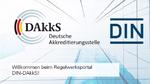 DIN-DAkkS-Regelwerksportal jetzt online