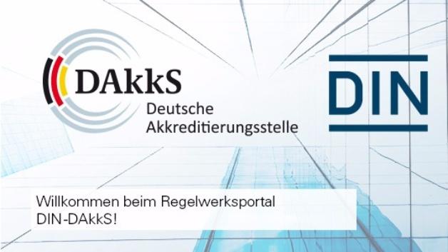 Neu auf der DAkkS-Homepage: Onlineportal für das Regelwerk