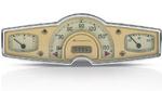 Continental hat bereits die berühmte Isabella in den 1950 Jahren mit Kombiinstrumenten ausgestattet.