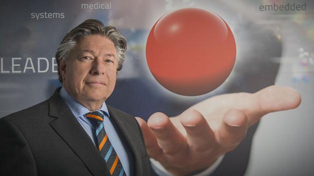 Roland Federle, MSC Technologies: »Wir sehen die Chancen für OLEDs sehr positiv, die Zeit ist überreif.«
