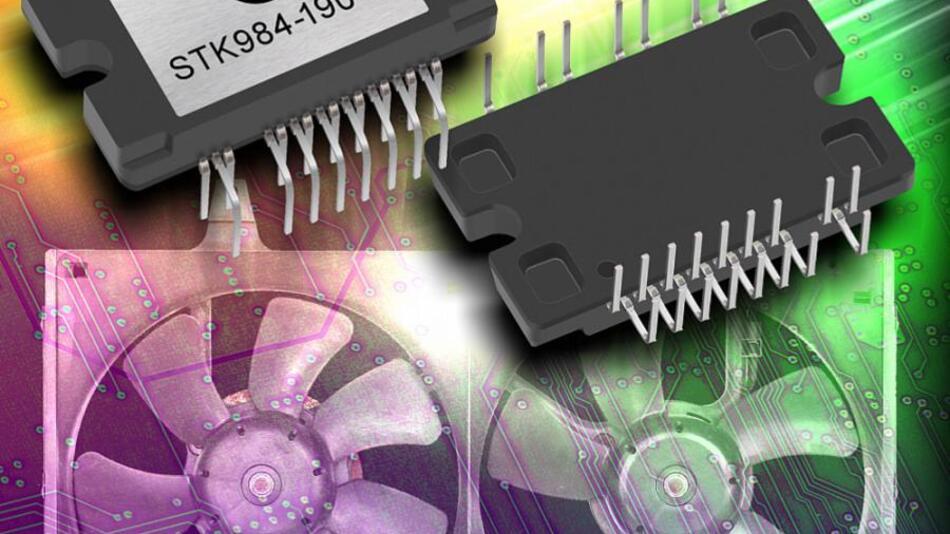 Das Power-Module von ON Semiconductor vom Typ STK984-190-E.