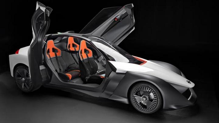 Der BladeGlider ist ein Elektrofahrzeug für Menschen mit Benzin im Blut, so Nissan.