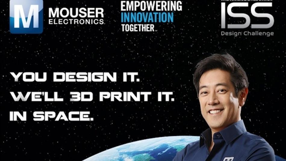 Mouser Electronics und Grant Imahara starten einen 3D-Designwettbewerb