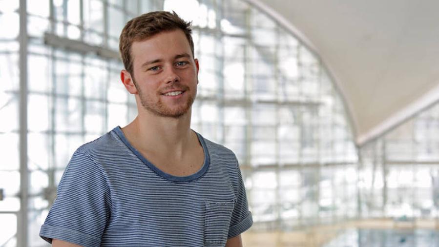 Schwimmer Florian Vogel startet bei Olympia 2016 in Rio.