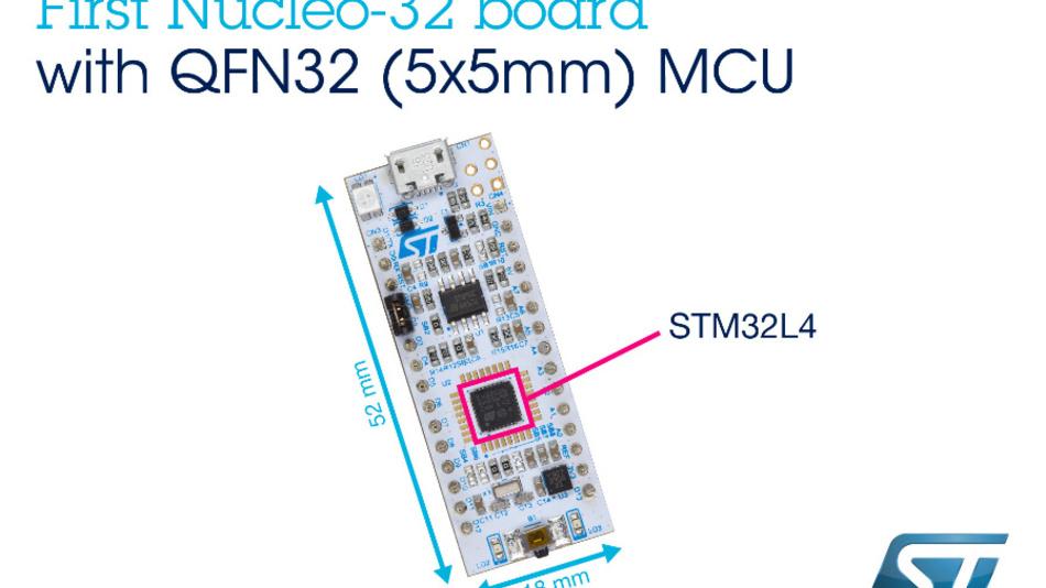 Nucleo-Board mit STM32L4-MCU