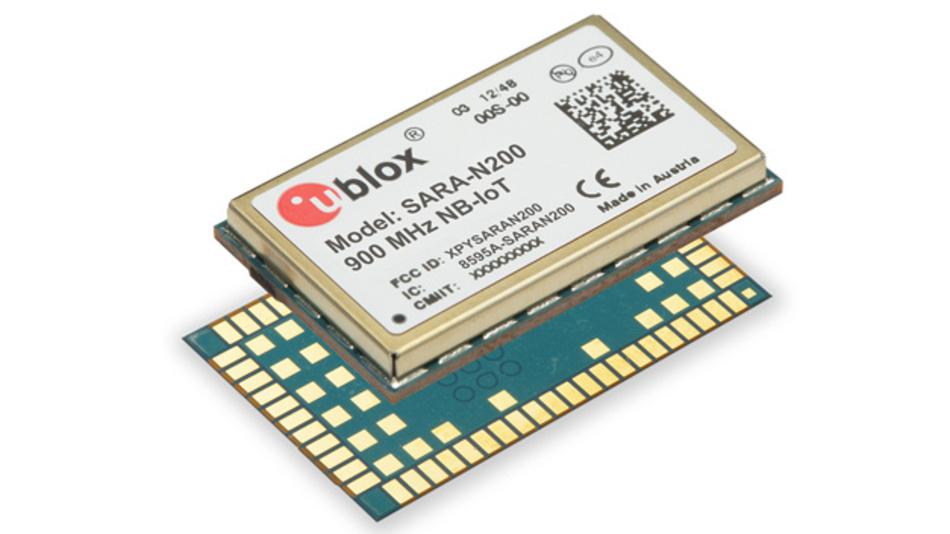 M2M-Kommunikation auf der Grundlage des LTE-Standards ermöglicht das Funkmodul SARA-N2 der u-blox AG für LTE-Cat-NB1 (NB-IoT).