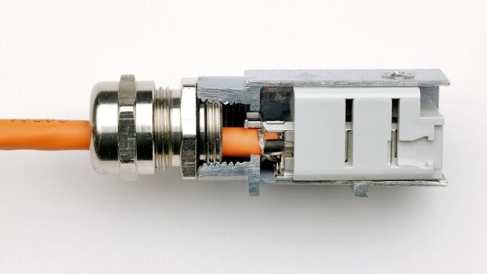 RJ45‐Buchseneinsatz CJK 8IFT