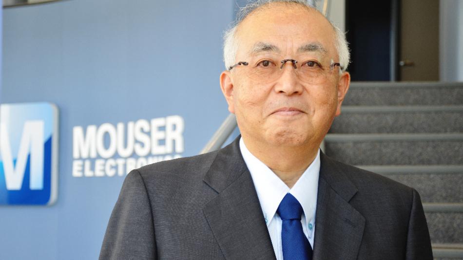 Sam Katsuta wird Vize-Präsident von Mouser Electronics-Japan.