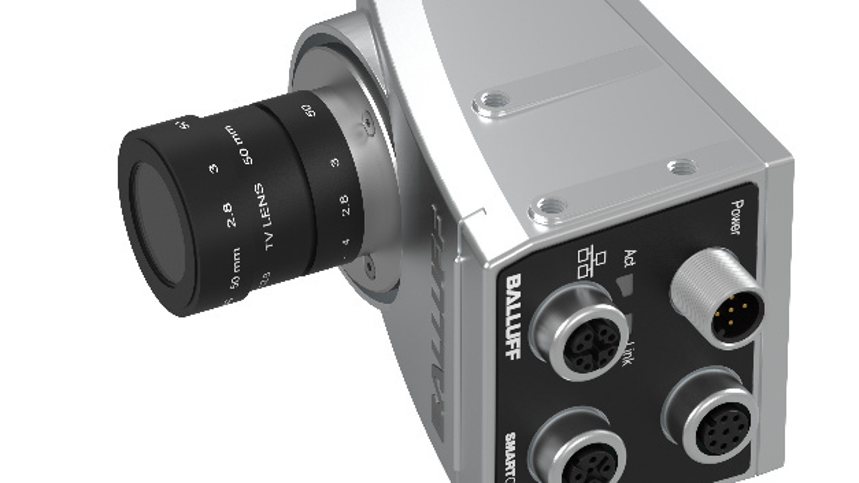Die Smart Camera von Balluff erfüllt viele Aufgaben in der Qualitätssicherung.