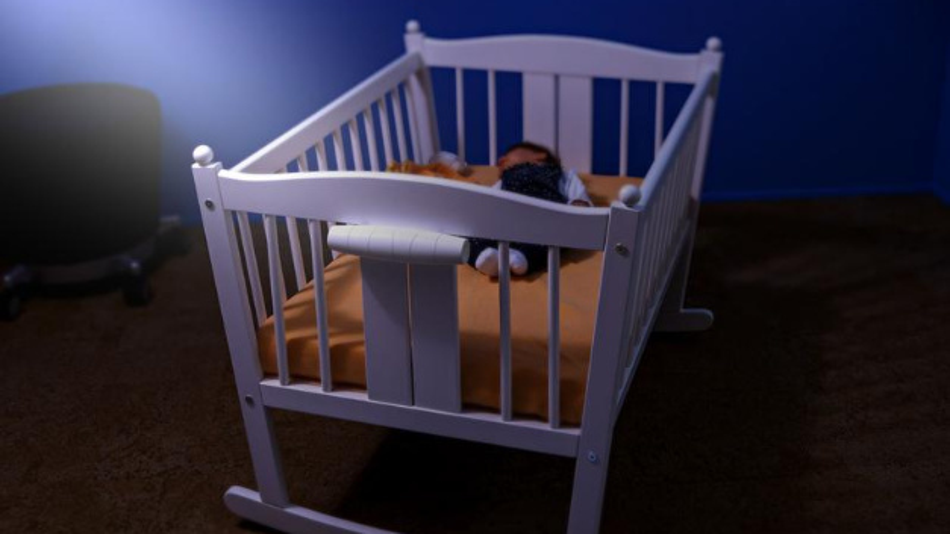 Swaybe schaukelt das Kind in den Schlaf, wenn die Eltern mal eine Schaukelpause brauchen.