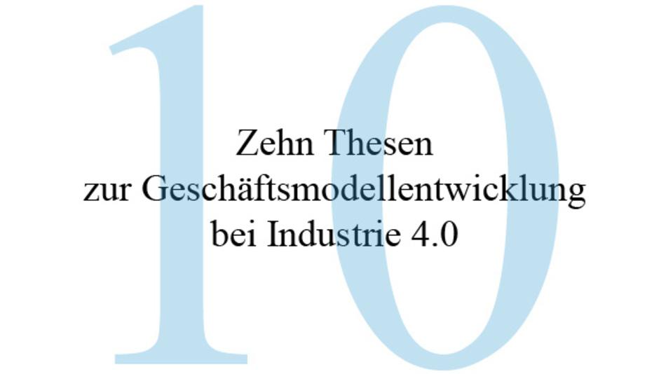 """10 Thesen hat die VDI/VDE-Gesellschaft Mess- und Automatisierungstechnik (VDI/VDE-GMA) im Statusreport """"Digitale Chancen und Bedrohungen – Geschäftsmodelle für Industrie 4.0"""" veröffentlicht."""
