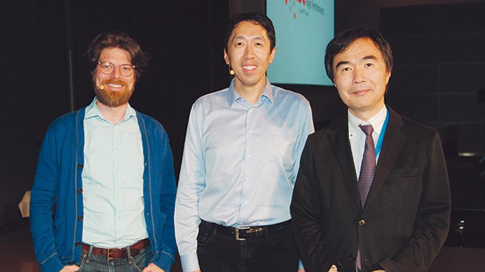 """Bild 1. Andrew Ng von der Stanford Universität und Baidu: """"Künstliche Intelligenz und maschinelles Lernen werden die gesamte Technik umkrempeln""""."""